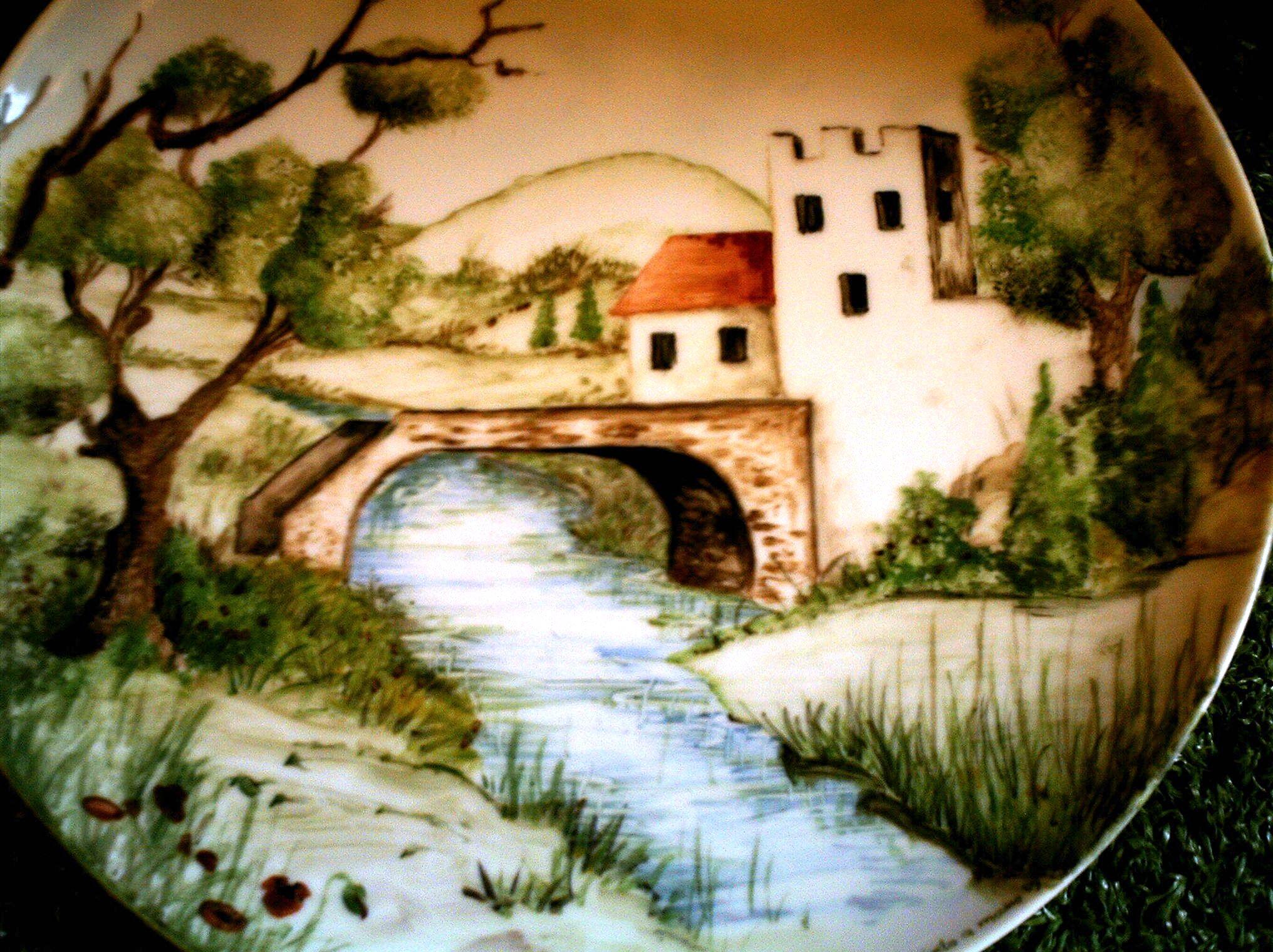 Negozio laboratorio vendita e decorazione di piatti for Decorazioni muro