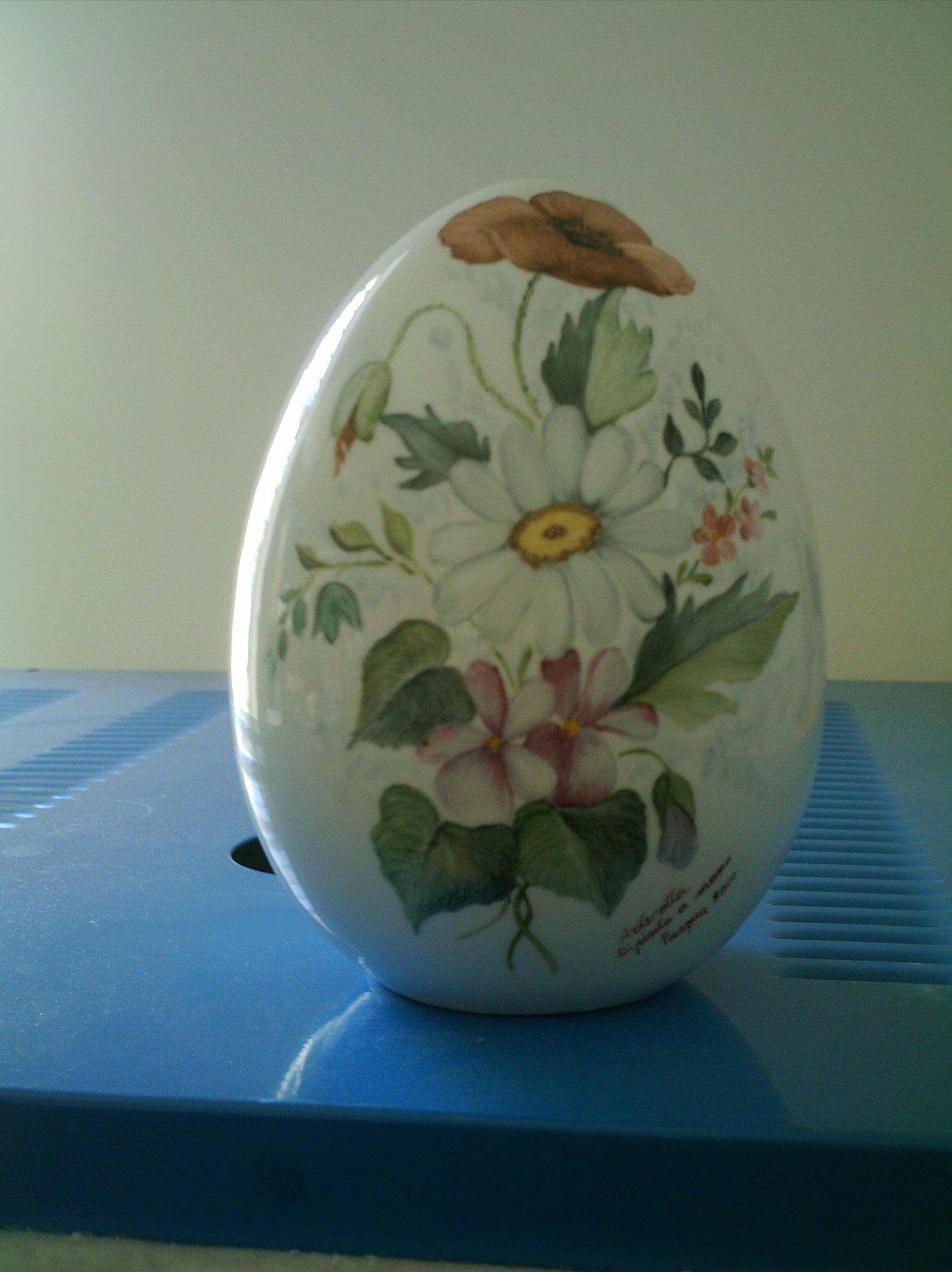 Uova Di Ceramica Dipinte A Mano.Negozio Laboratorio Vendita E Decorazione Di Decorazioni Pasquali In